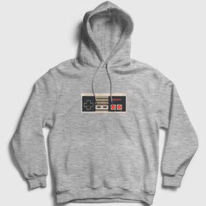 PlayGame Kapşonlu Sweatshirt gri kırçıllı