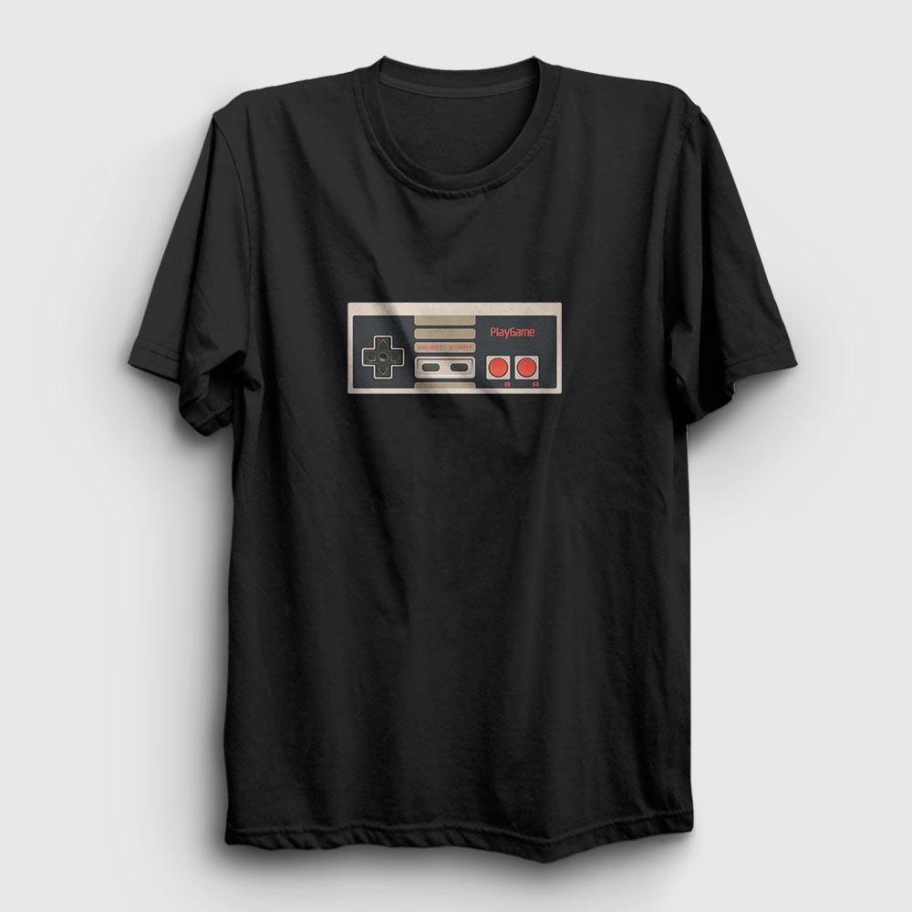 playgame tişört siyah