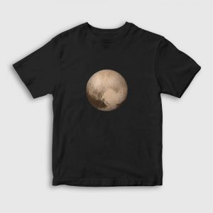 Plüton Çocuk Tişört siyah
