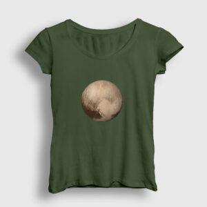 Plüton Kadın Tişört haki