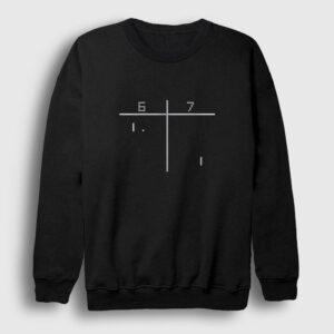 Pong Sweatshirt siyah
