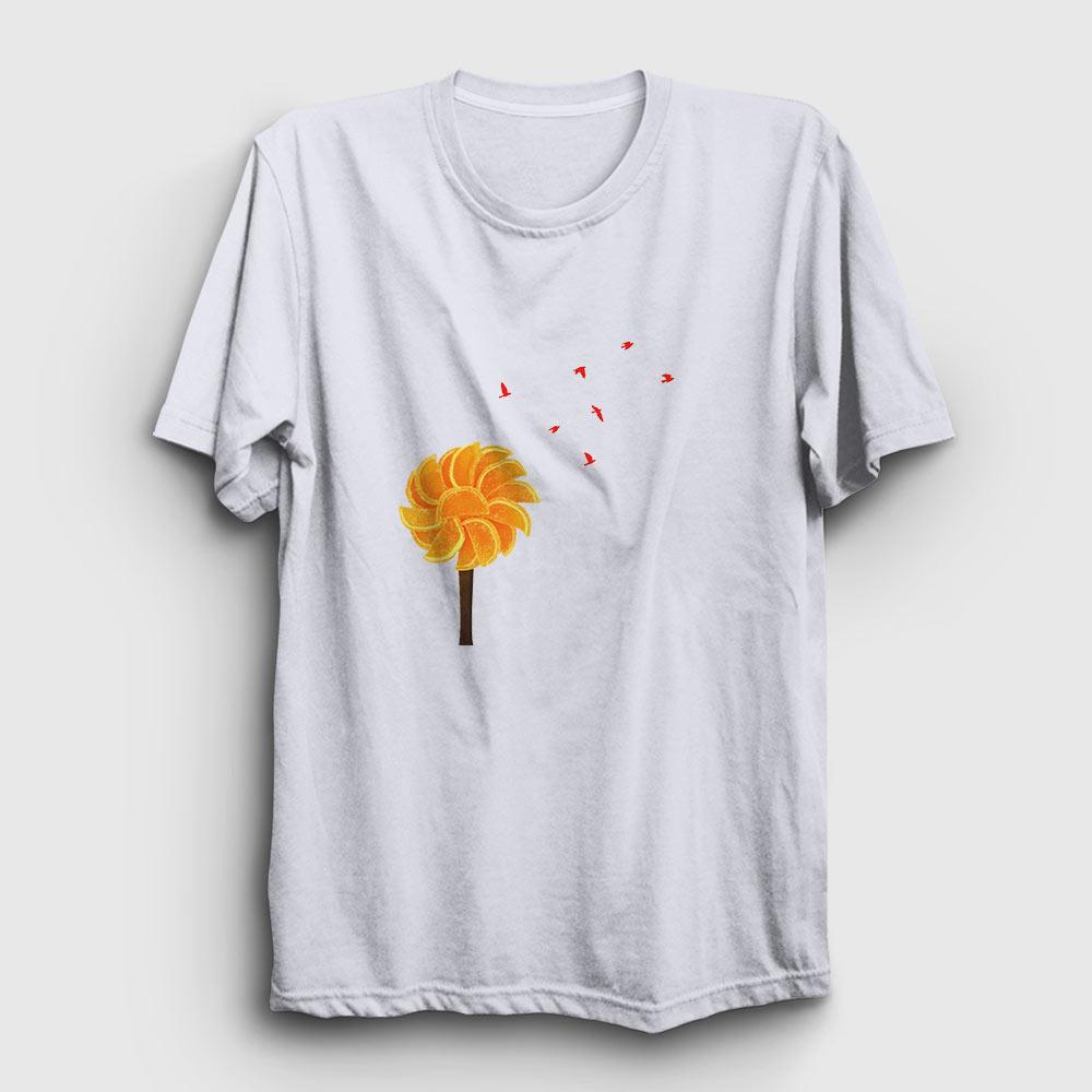 portakal ağacı tişört beyaz