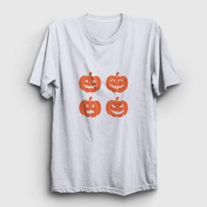 Pumpkins Tişört beyaz