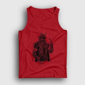 Punk Samuray Atlet kırmızı