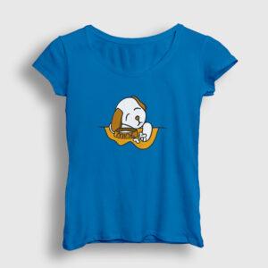 Puppy Mine Kadın Tişört açık mavi
