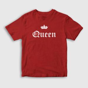 Queen Çocuk Tişört kırmızı