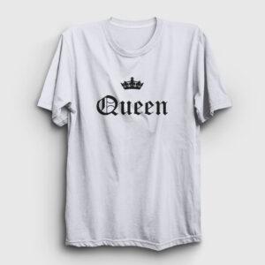 Queen Tişört beyaz