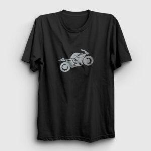 Racer Tişört siyah