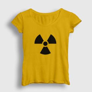 Radyasyon Kadın Tişört sarı