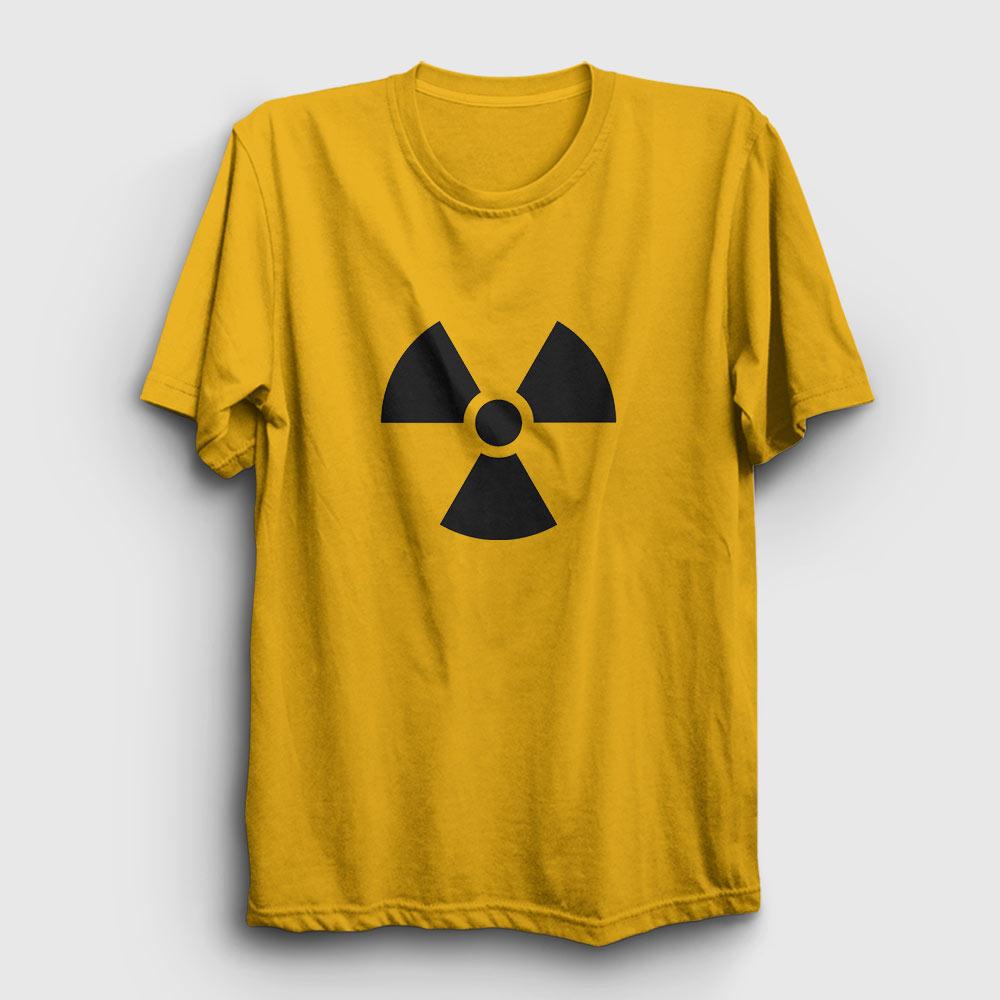 radyasyon tişört sarı