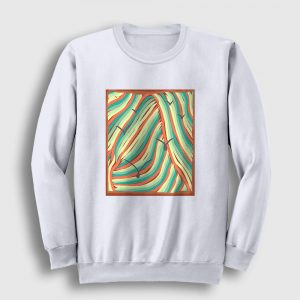 Relaxing Colors Sweatshirt beyaz