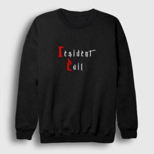Resident Evil Sweatshirt siyah