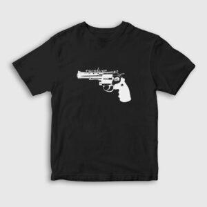 Revolver Çocuk Tişört siyah