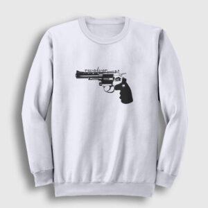 Revolver Sweatshirt beyaz