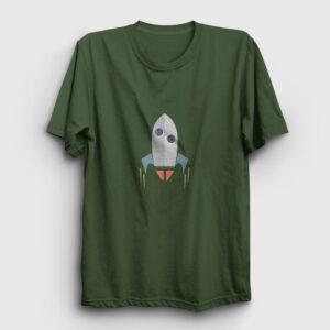 Roket Tişört haki