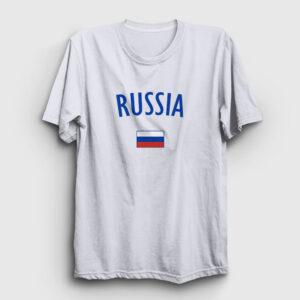 Rusya Tişört beyaz