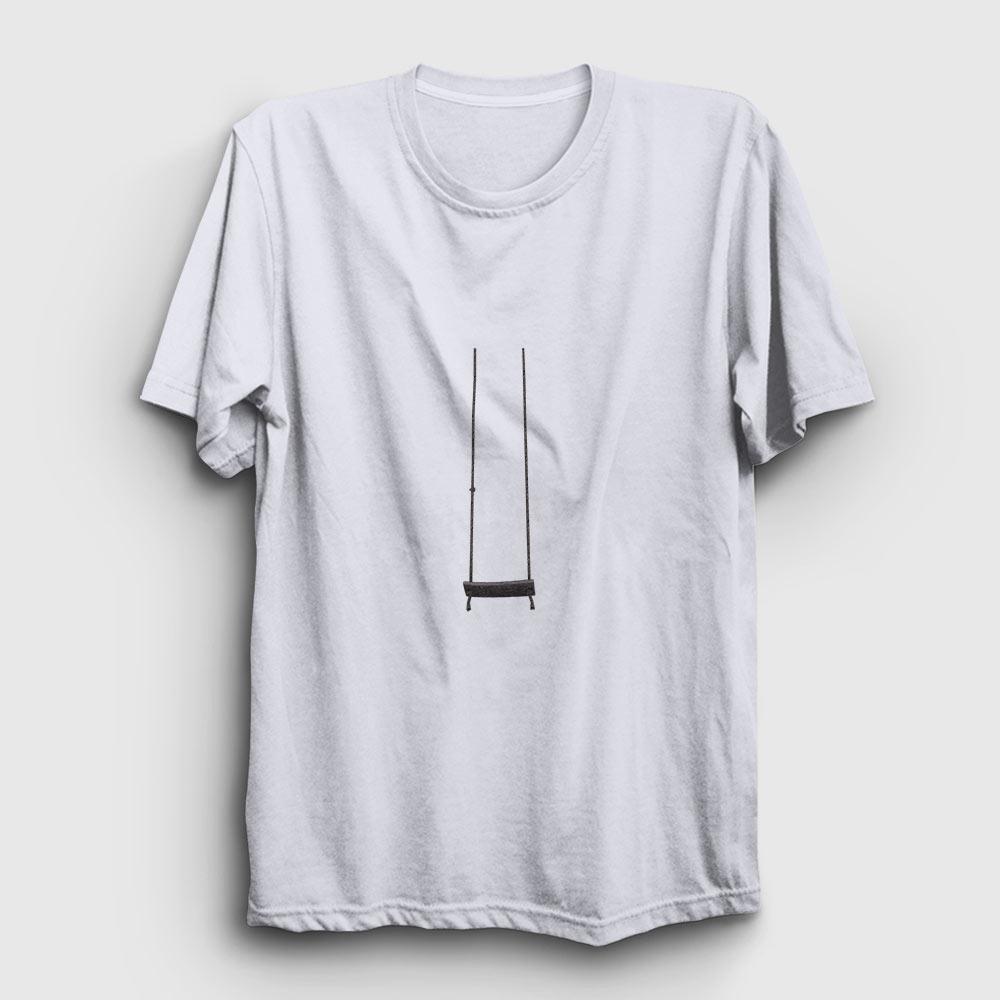 salıncak tişört beyaz