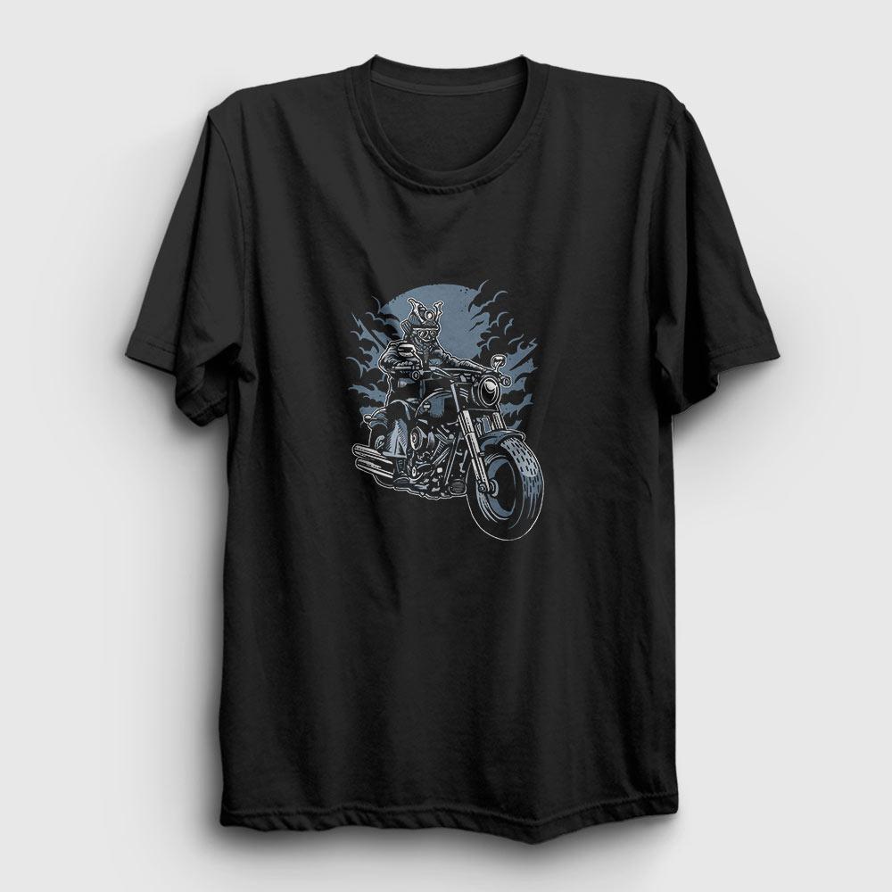 Samurai Rider Tişört siyah