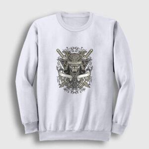 Samuray Sweatshirt beyaz