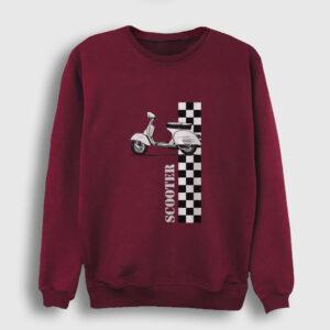 Scooter Sweatshirt bordo