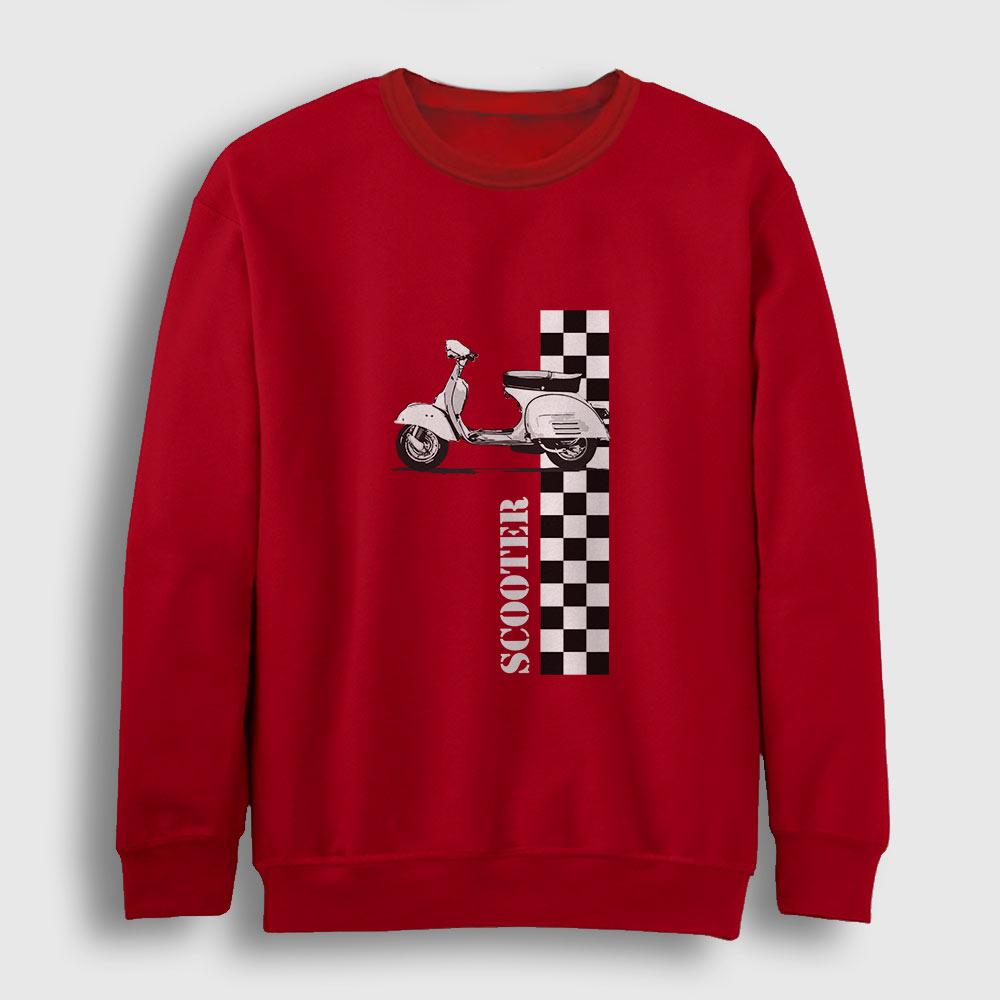 Scooter Sweatshirt kırmızı