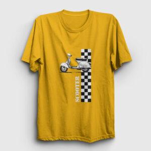 Scooter Tişört sarı