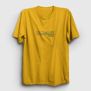 Seyşeller Tişört sarı