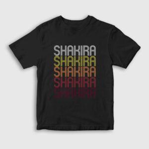 Shakira Çocuk Tişört siyah