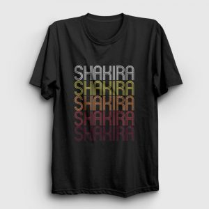 Shakira Tişört siyah
