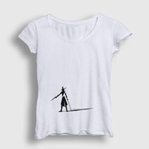 Silahşör Kadın Tişört beyaz