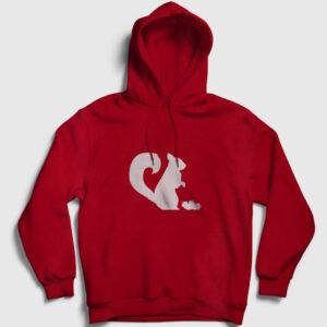 Sincap Kapşonlu Sweatshirt kırmızı