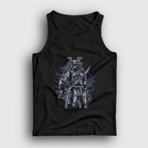 Skeleton Samurai Atlet siyah