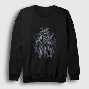 Skeleton Samurai Sweatshirt siyah