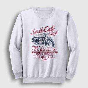 South Cali Sweatshirt beyaz