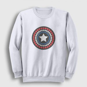 Star Shield Sweatshirt beyaz