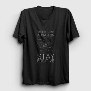 Stay Positive Tişört siyah