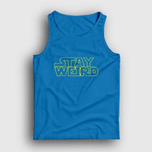 Stay Weird Atlet açık mavi