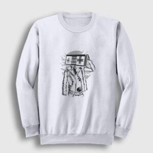 Street Gamer Sweatshirt beyaz