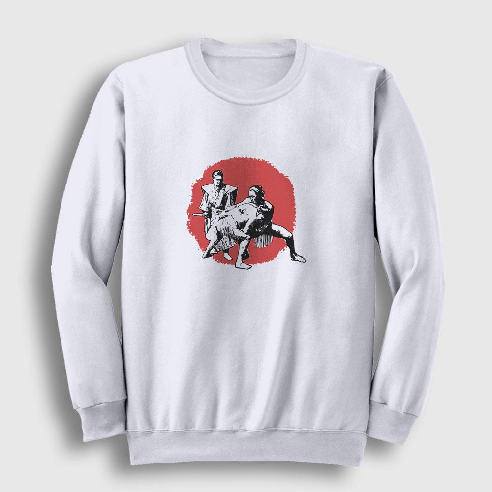 Sumo Sweatshirt beyaz
