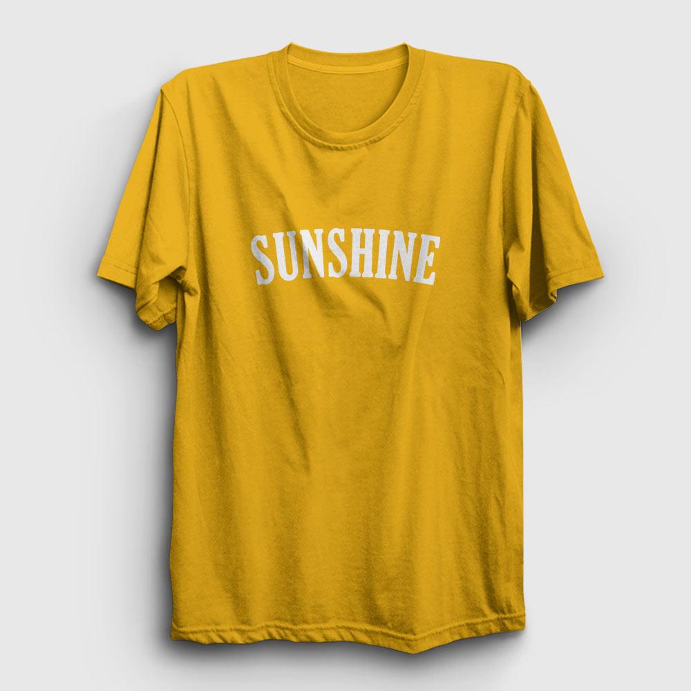 sunshine tişört sarı