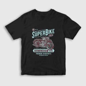 Super Bike Çocuk Tişört siyah