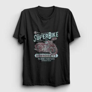 Super Bike Tişört siyah
