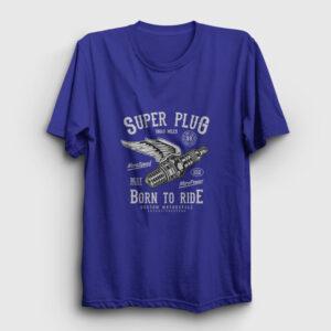 Super Plug Tişört lacivert