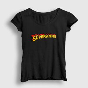 Süperanne Kadın Tişört siyah