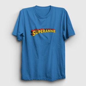 Süperanne Tişört açık mavi