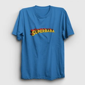 Süperbaba Tişört açık mavi
