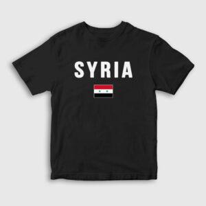 Suriye Çocuk Tişört siyah