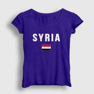 Suriye Kadın Tişört lacivert