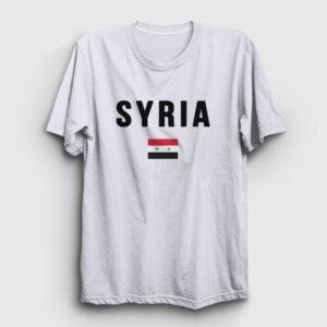 Suriye Tişört beyaz