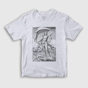 Tanrıça Afrodit Çocuk Tişört beyaz